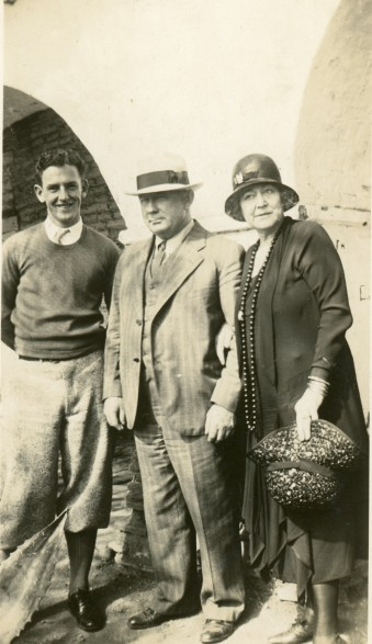 William Colbert (in hat)